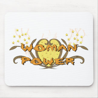 Woman Power Mouse Pad
