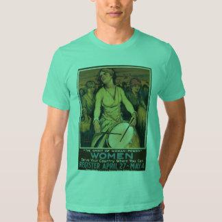 Woman-Power World War 2  T-shirt