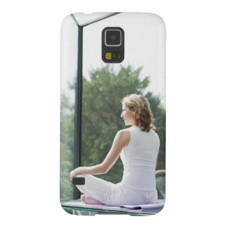 Woman Practicing Yoga Galaxy S5 Cover
