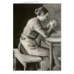 Woman Praying, Vincent van Gogh Card