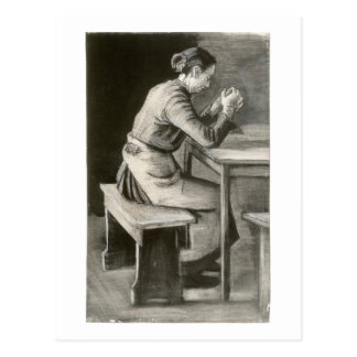 Woman Praying, Vincent van Gogh Postcards