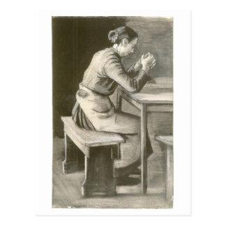 Woman Praying, Vincent van Gogh Postcard