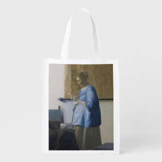 Woman Reading a Letter, c.1662-63 (oil on canvas) Market Tote