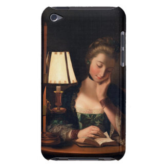 Woman Reading by a Paper-bell Shade, 1766 (oil on iPod Touch Cover