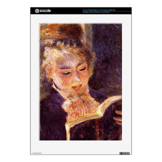Woman Reading by Pierre Renoir PS3 Console Skins