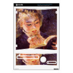 Woman Reading by Pierre Renoir Skin For Xbox 360 S