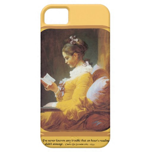 Woman Reading... iPhone 5 Covers