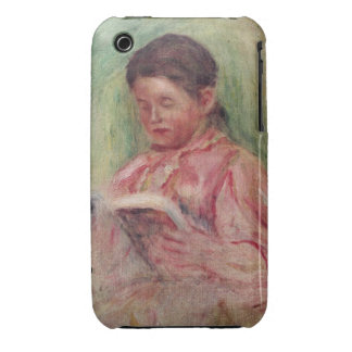 Woman Reading (oil on canvas) Case-Mate iPhone 3 Cases