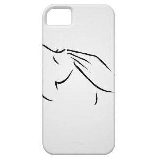 Woman receiving spa treatment iPhone SE/5/5s case