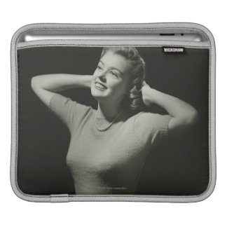 Woman Relaxing Sleeves For iPads