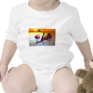 Woman RK the shores Baby Bodysuit