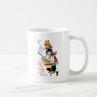 Woman Rolling Biscuit Dough Coffee Mug