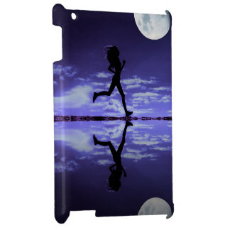 woman running iPad cases