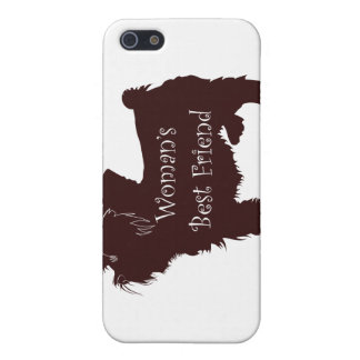Woman's Best Friend dog silhouette of toy terrier Cases For iPhone 5