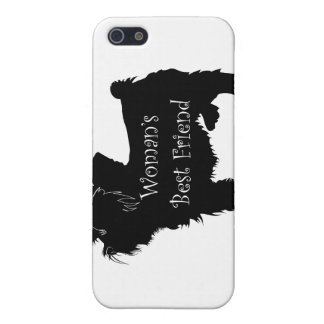 Woman's Best Friend dog silhouette of toy terrier iPhone 5 Covers