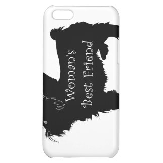 Woman's Best Friend dog silhouette of toy terrier iPhone 5C Cases