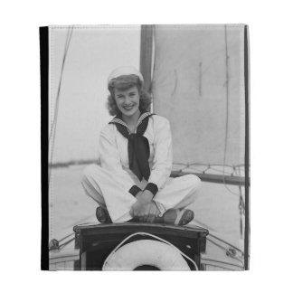Woman Sailor iPad Cases