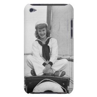 Woman Sailor iPod Touch Case-Mate Case