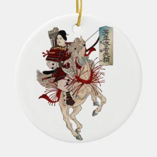Woman Samurai - Ornament