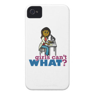 Woman Scientist iPhone 4 Cover