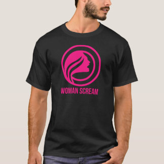 Woman Scream promo T-Shirt