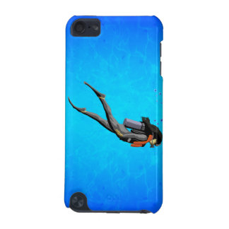 Woman SCUBA Diving iPod Touch 5G Case