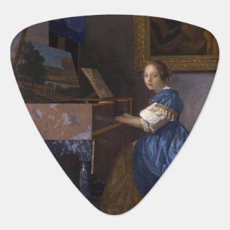 Woman Seated at a Virginal by Vermeer Pick