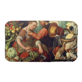 Woman Selling Vegetables, 1567 (oil on canvas) iPhone 3 Case-Mate Case