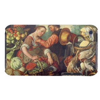 Woman Selling Vegetables, 1567 (oil on canvas) iPod Touch Cover