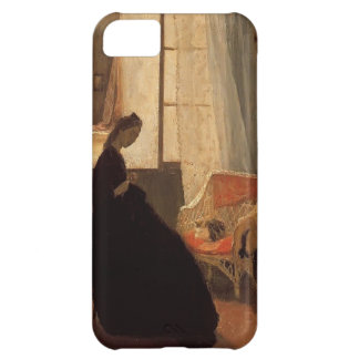 Woman Sewing at a Window by Gwen John Case For iPhone 5C