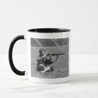 Woman Sharpshooter, 1920s Mug