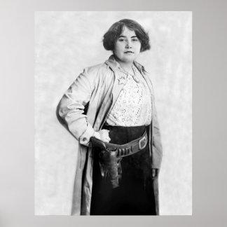 Woman Sheriff, 1910 Poster