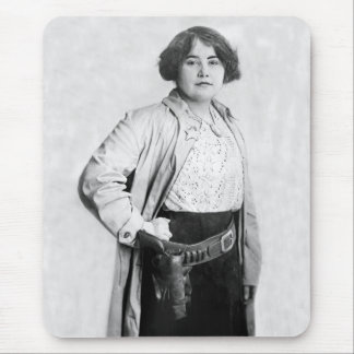 Woman Sheriff, early 1900s Mouse Pad