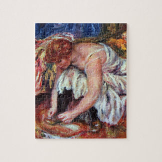 Woman Shoe Syndicate by Pierre Renoir Jigsaw Puzzles