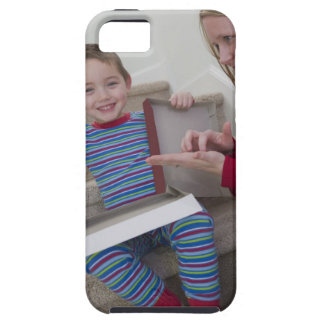 Woman signing the word 'Calculator' in American iPhone SE/5/5s Case