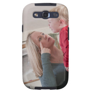 Woman signing the word 'Cry' in American Sign Galaxy SIII Cases
