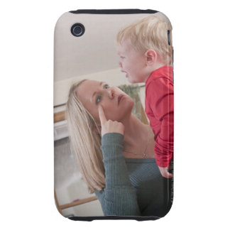 Woman signing the word 'Cry' in American Sign iPhone 3 Tough Case