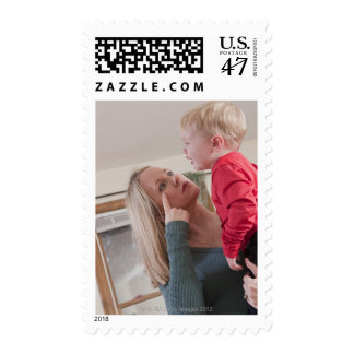 Woman signing the word 'Cry' in American Sign Postage