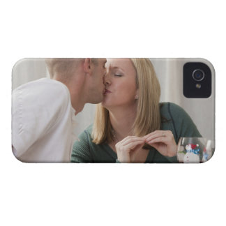Woman signing the word 'Kiss' in American Sign Case-Mate iPhone 4 Case