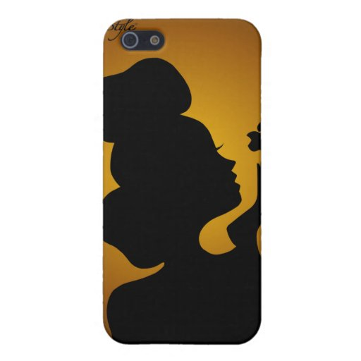 Woman Silhouette Series iPhone 5 Cover