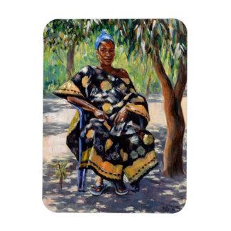 Woman Sitting 2004 Magnet