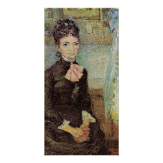 Woman Sitting by a Cradle by Vincent van Gogh Card
