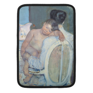 Woman Sitting with Child in Her Arms Mary Cassatt Sleeve For MacBook Air