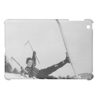 Woman Skier 2 iPad Mini Case
