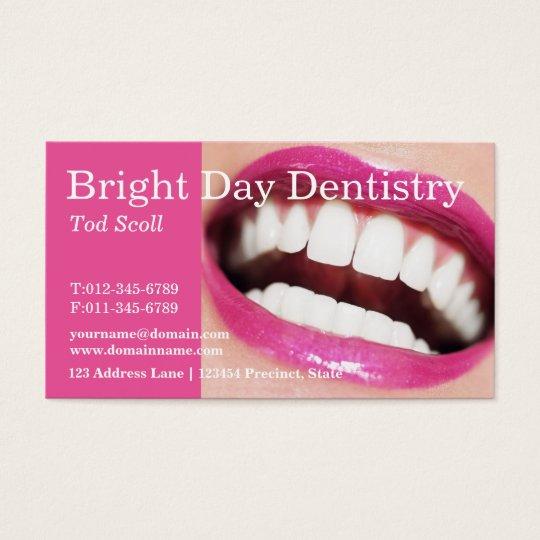 Woman smile teeth whitening dental care dentist business card woman smile teeth whitening dental care dentist business card reheart Image collections