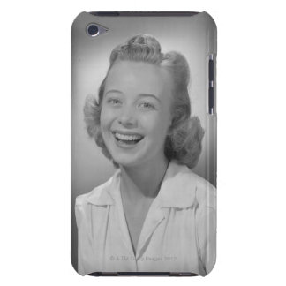 Woman Smiling Barely There iPod Cover