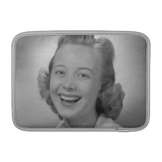Woman Smiling MacBook Air Sleeve