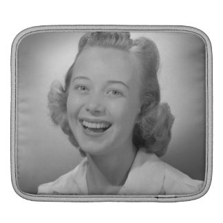 Woman Smiling Sleeve For iPads