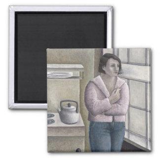 Woman Smoking 1996 Magnet