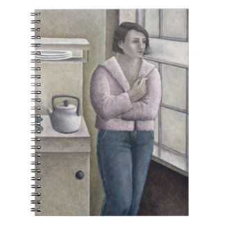 Woman Smoking 1996 Spiral Notebook